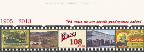 Refrigerantes Pureza – desde 1905 produzindo sabor - Cervejaria Rio Branco
